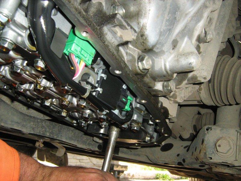 JATCO CVT & DaimlerChrysler  замена масла. 5EXN