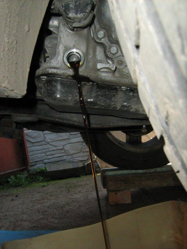 JATCO CVT & DaimlerChrysler  замена масла. 5EXz