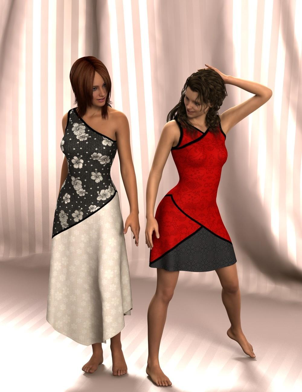 MeriMay Dress Designer Three
