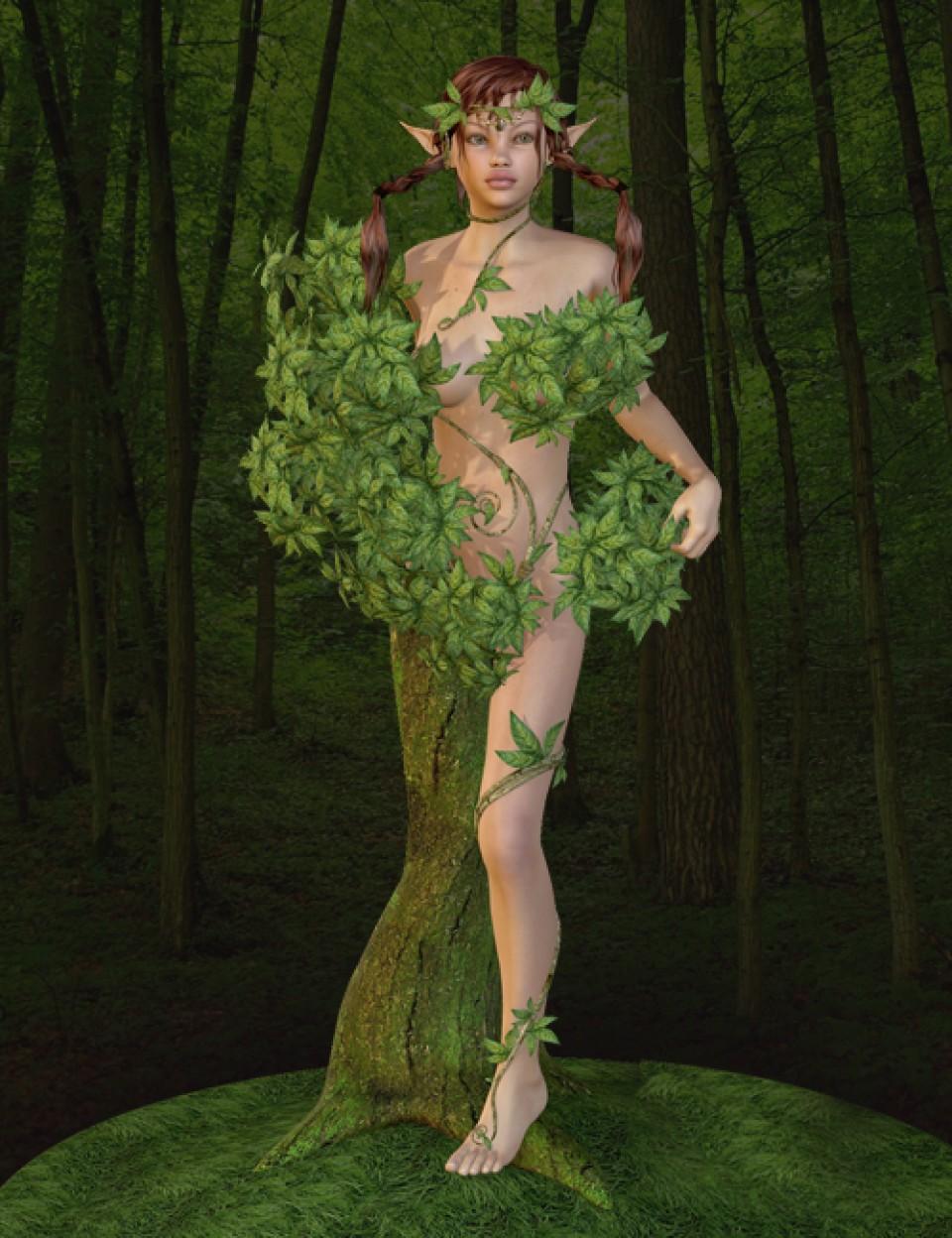Forest Dryad for V4