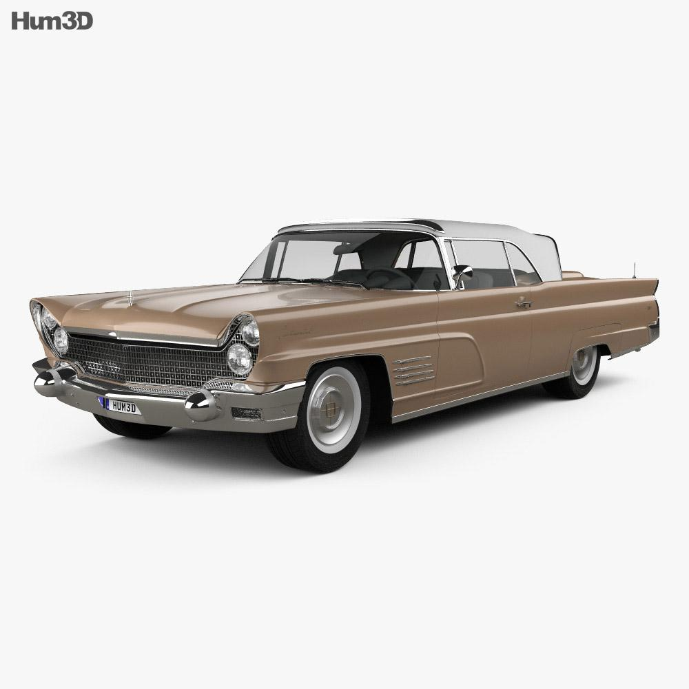 Lincoln Continental Mark V 1960 3D