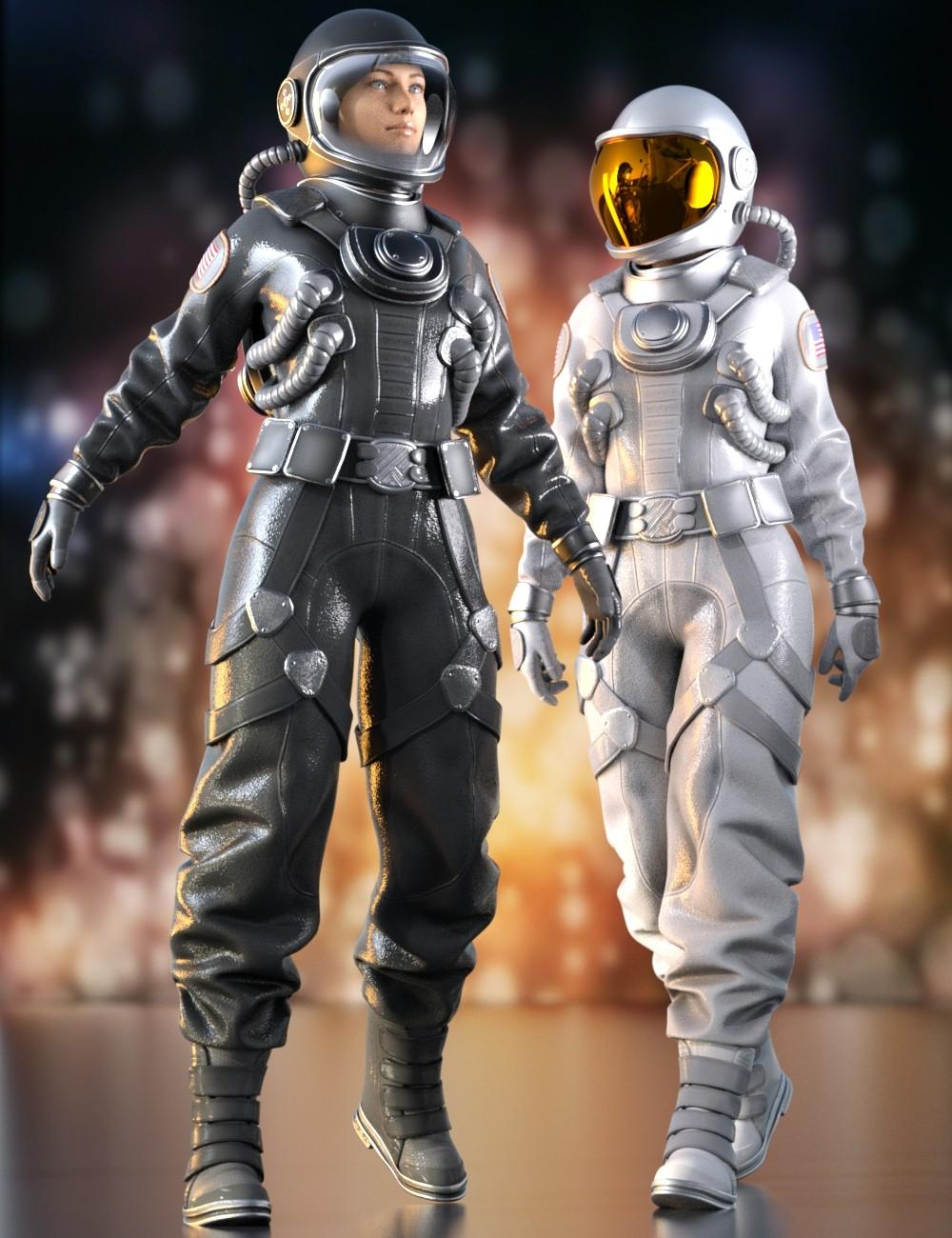 Space Suit Outfit for Genesis 8