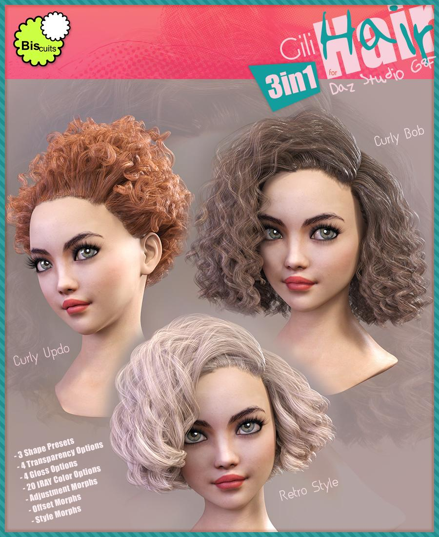 Biscuits Gili Hair 3in1 for G8F