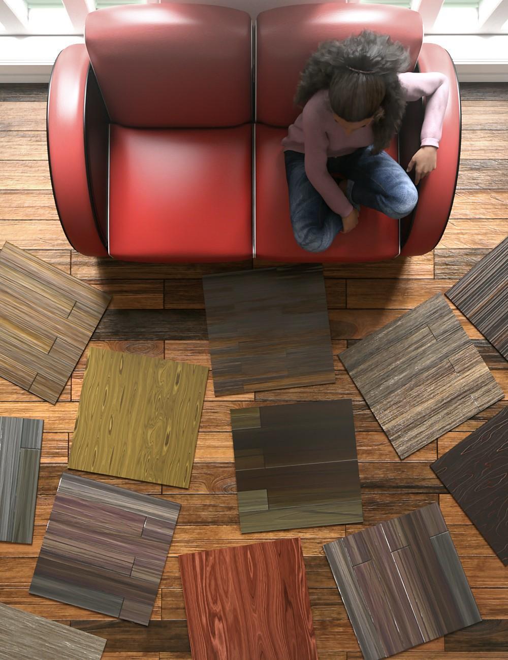Laminated Wood Floors Iray Shaders