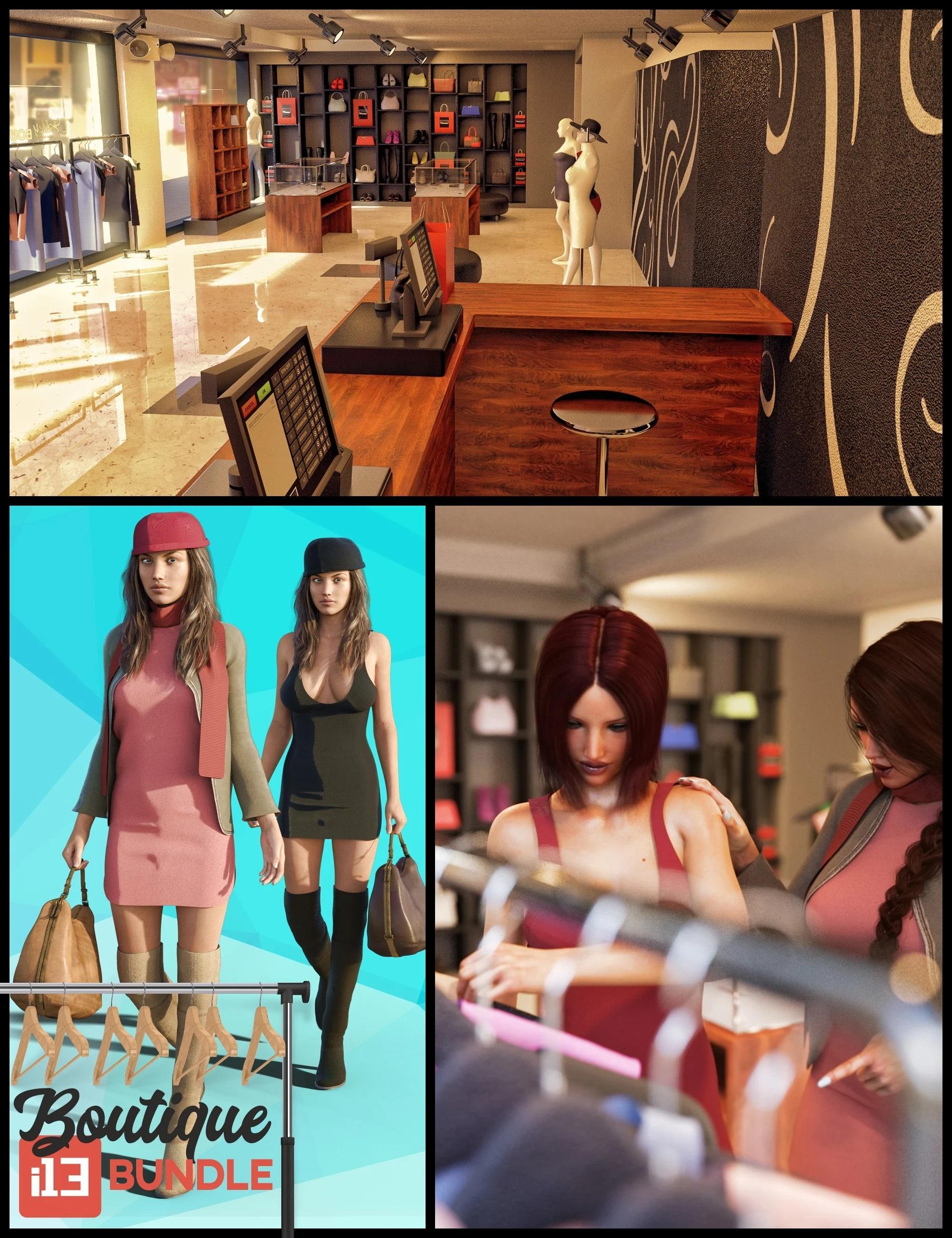 i13 Clothing Boutique Bundle