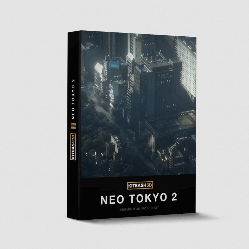 KitBash3D – Neo Tokyo 2