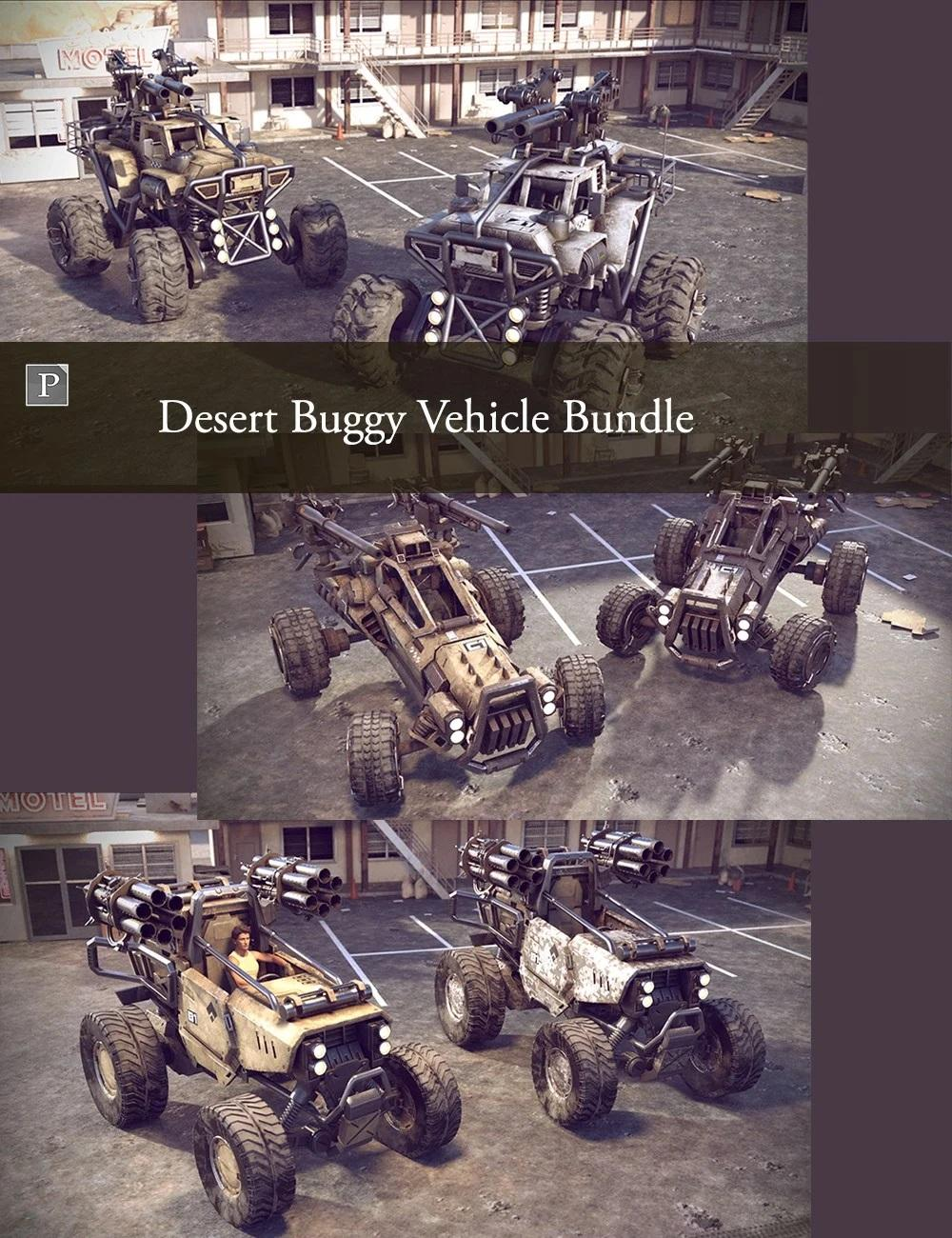 Desert Buggy Vehicle Bundle
