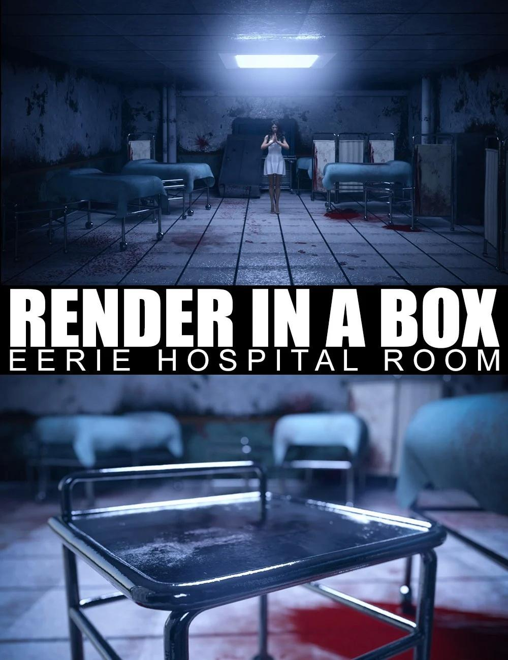 Render In A Box – Eerie Hospital Room