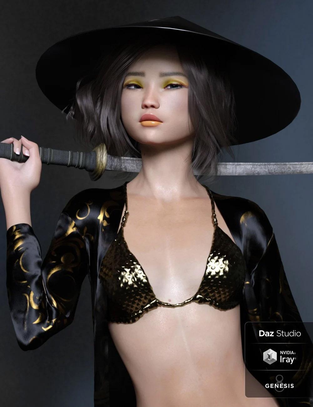 Naomi HD for Genesis 8 Female
