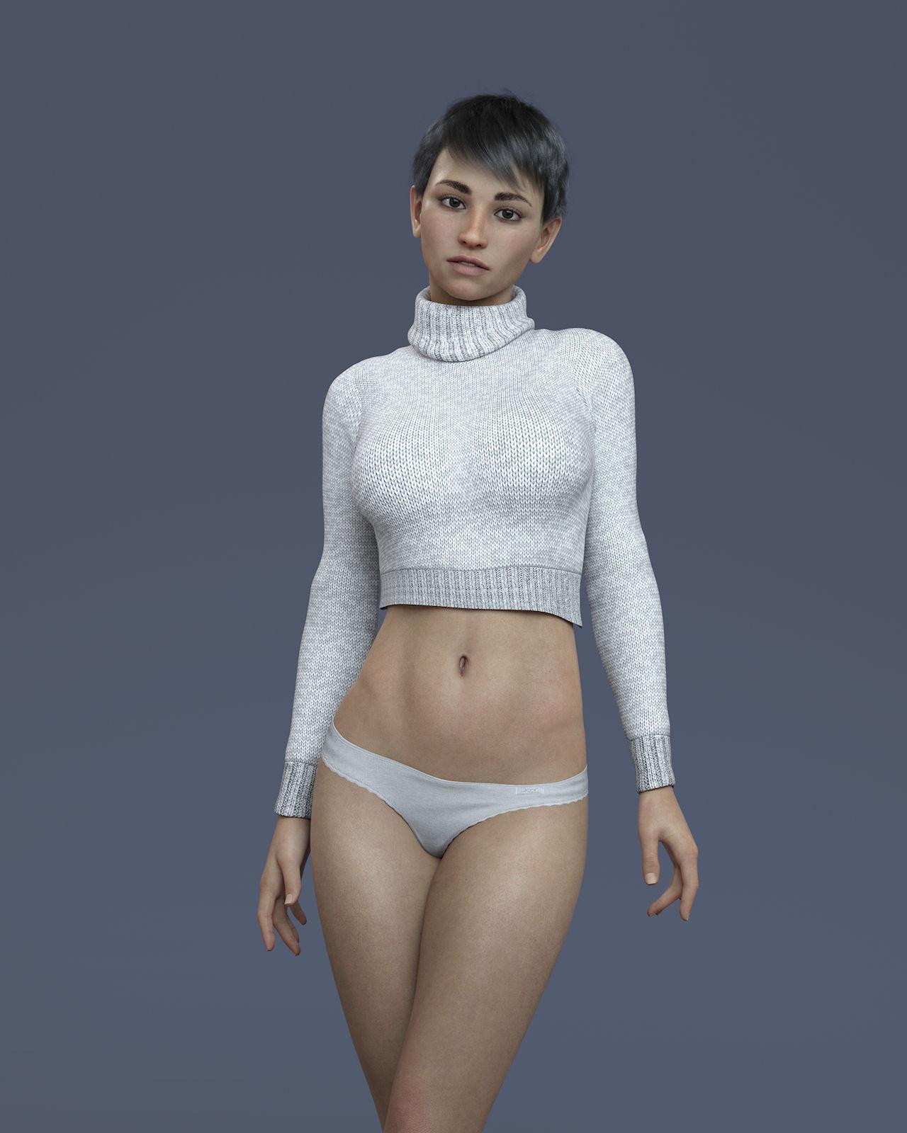 KrashWerks MARLENA for Genesis 8 Female