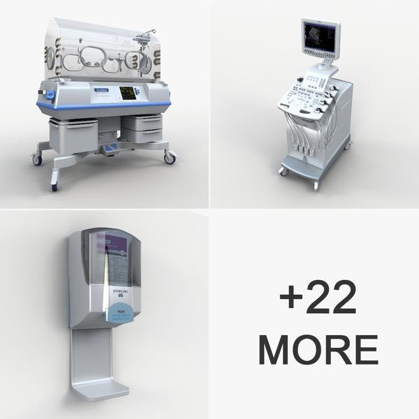 DigitalX Models – Volume 18: Medical 1