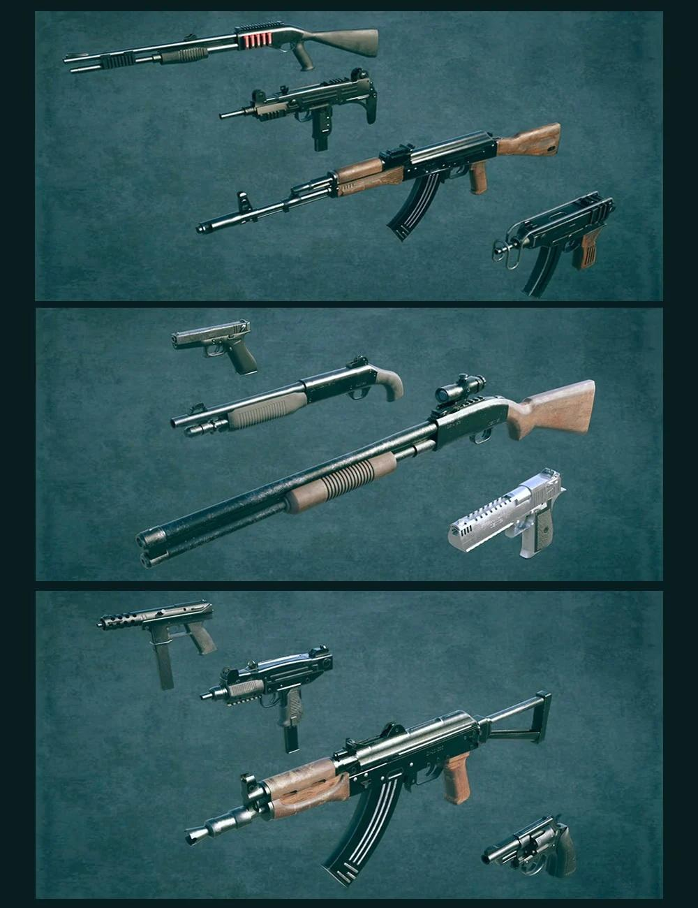 Gangster Weapon Bundle