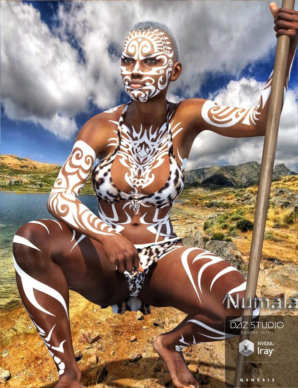 Numala for Genesis 3 Female