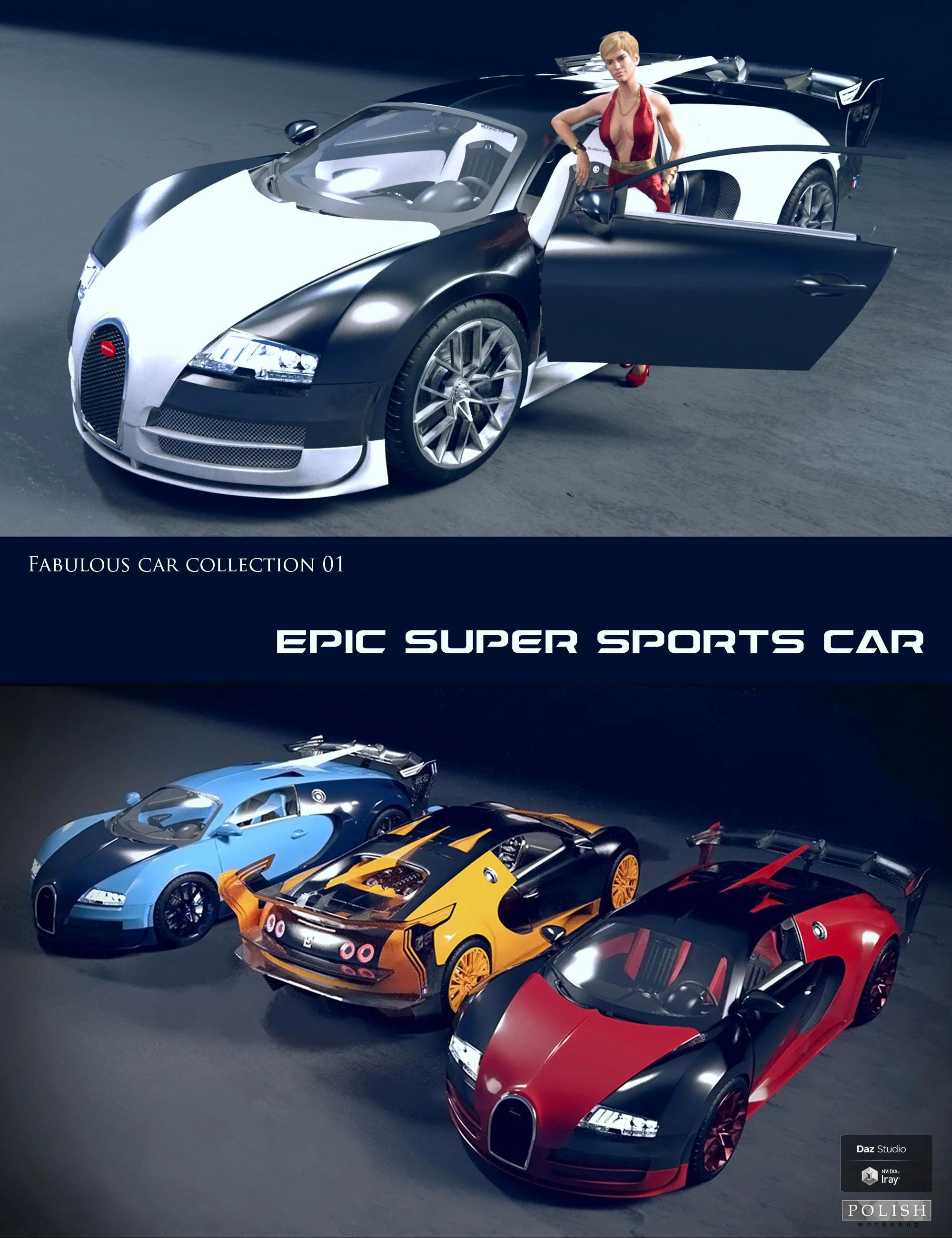 Epic Super Sports Car