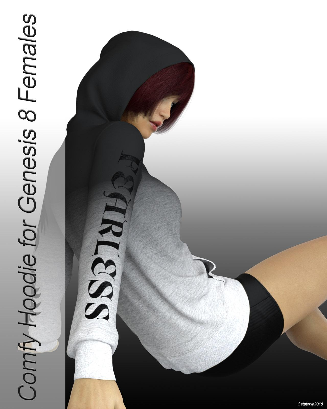 dforce Comfy Hoodie for Genesis 8
