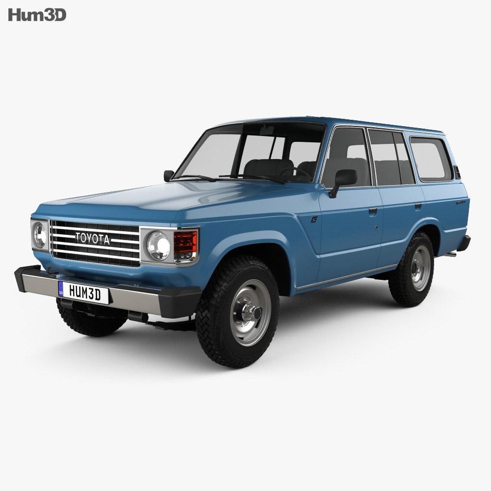 Toyota Land Cruiser (J60) 1980 3D model