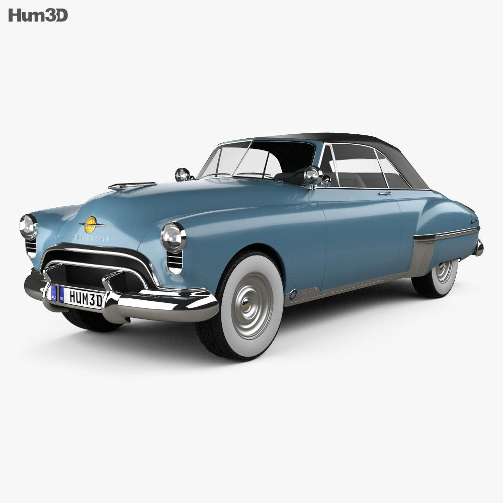 Oldsmobile 88 Futuramic Convertible 1949 3D model
