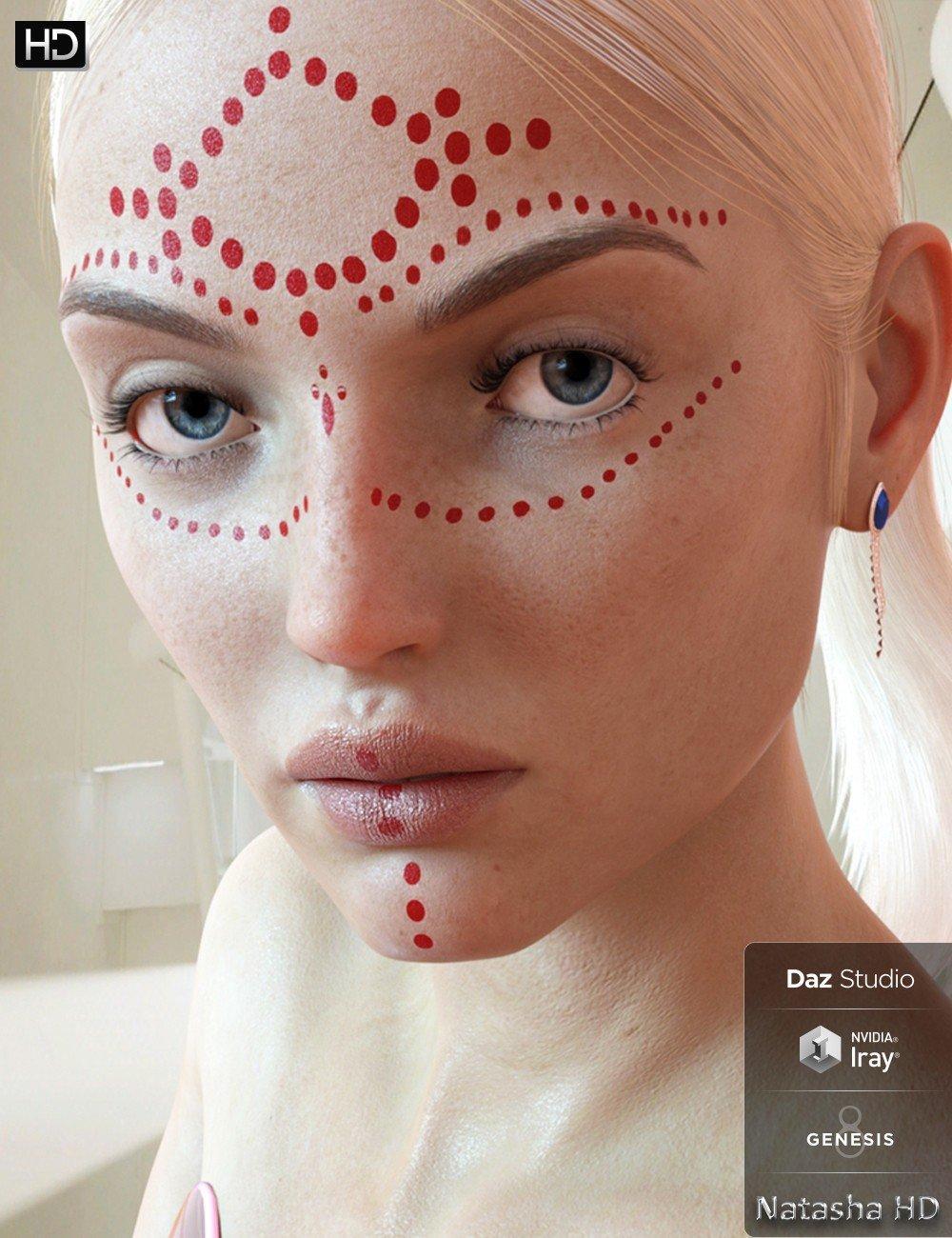 Natasha HD for Genesis 8 Female