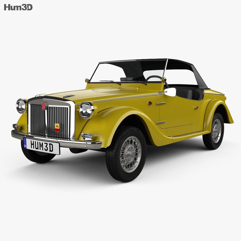 Fiat Siata Spring 1968 3D model