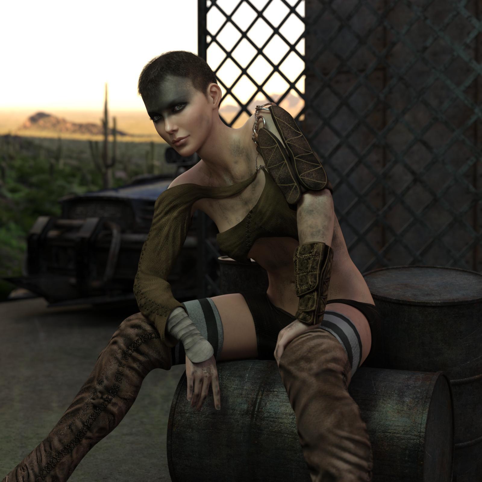 Furia for Genesis 8 Female