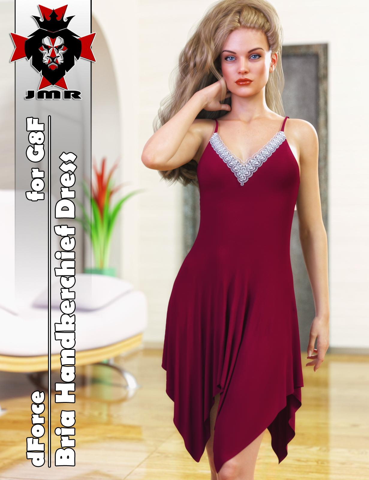 JMR dForce Bria Handkerchief Dress for G8F