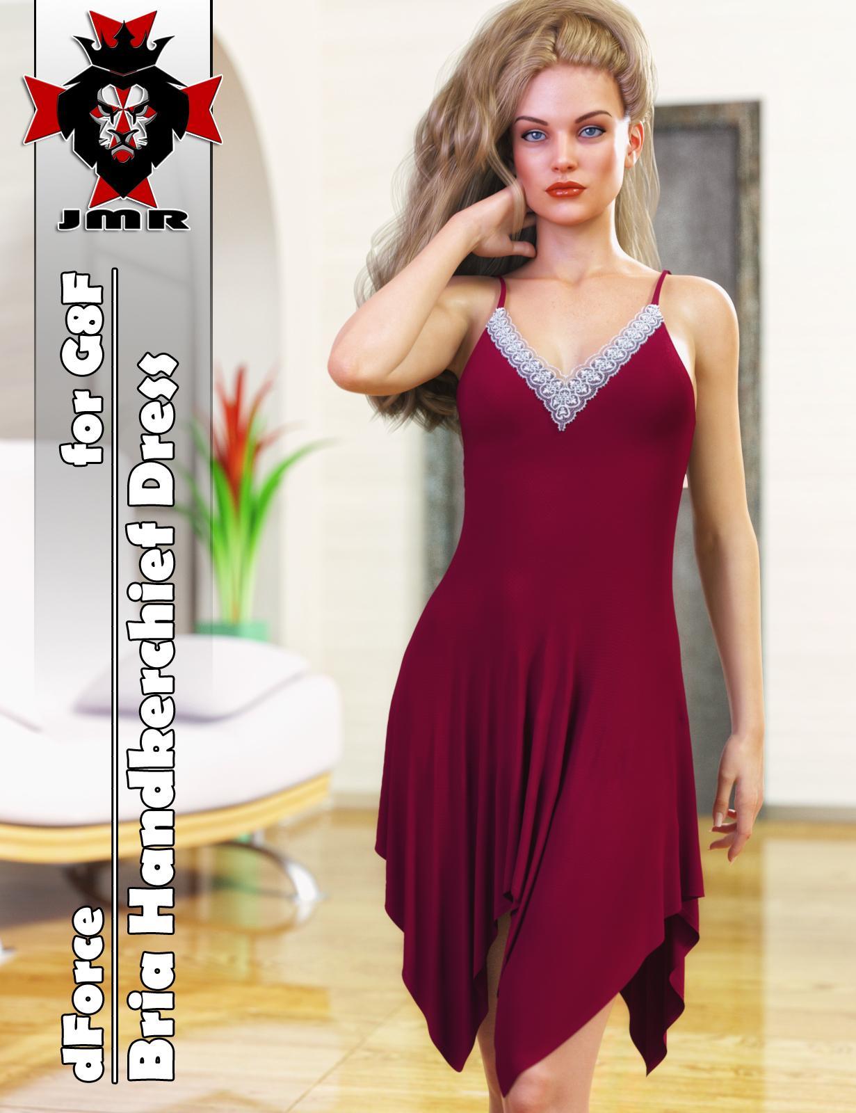 JMR dForce Bria Handkerchief Dress for G8F