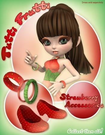 Tutti Frutti: Strawberry Accessories for Cookie