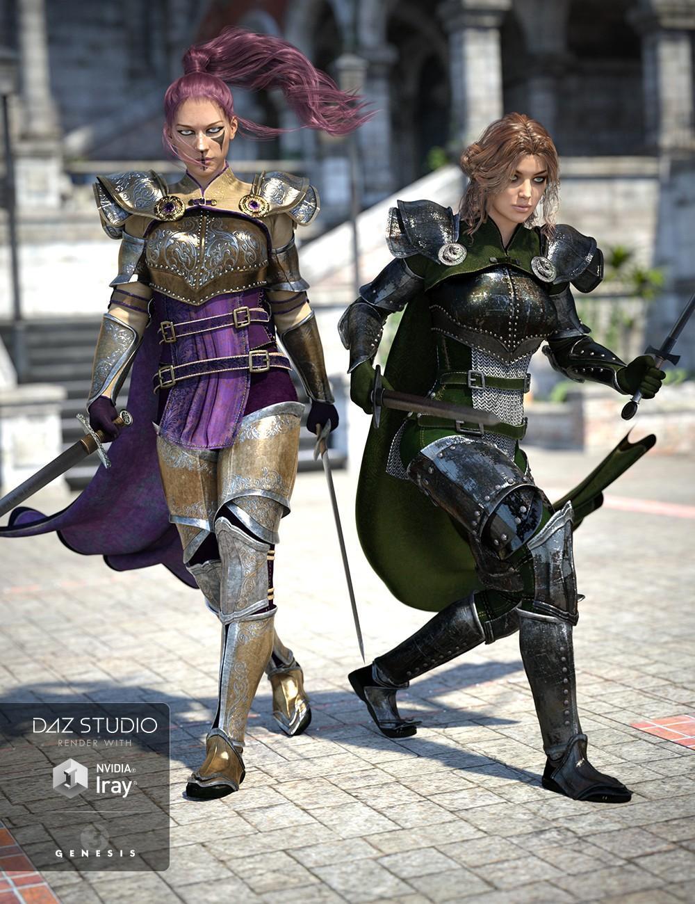Chevaleresse Armor Textures