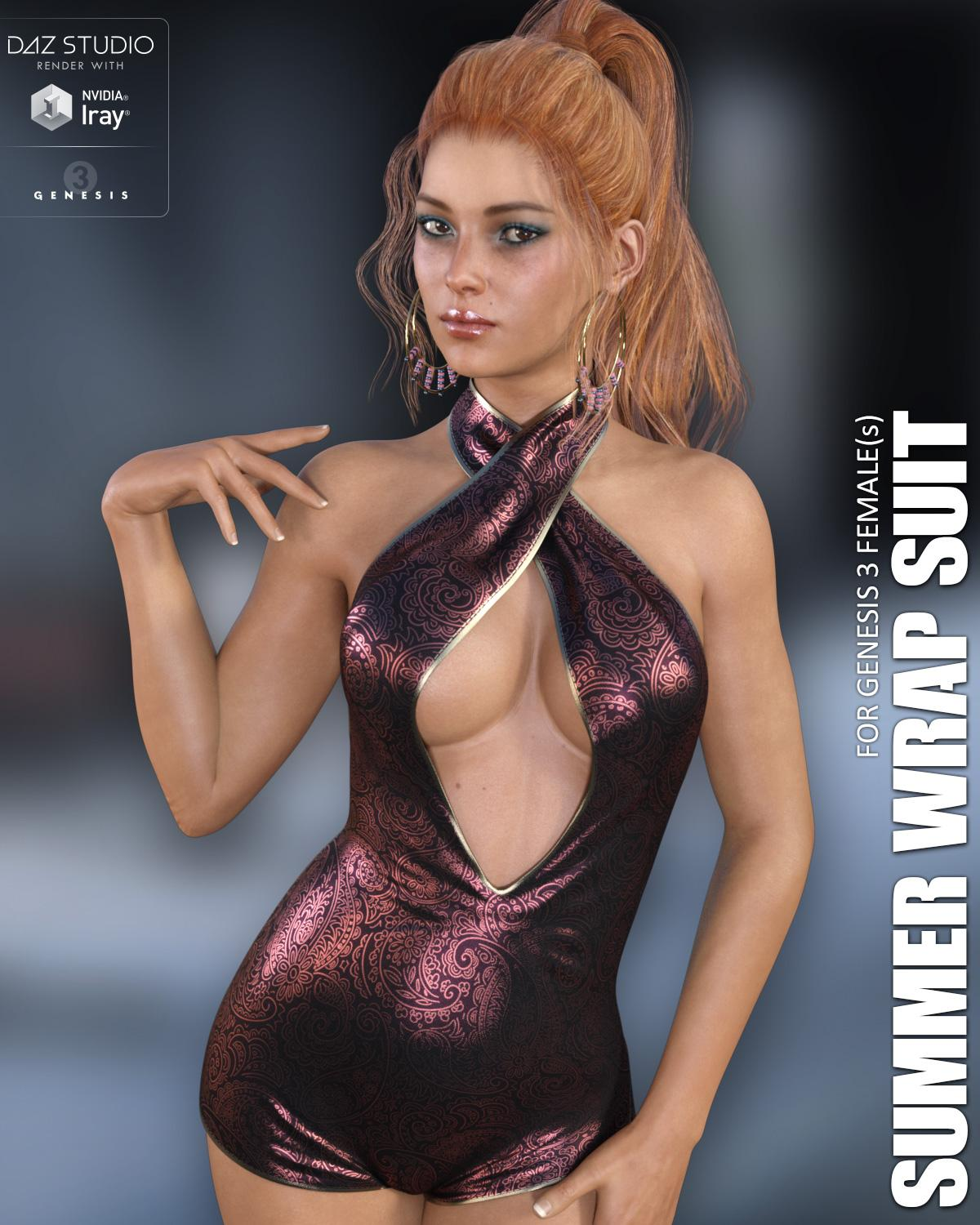 Summer Wrap Suit for Genesis 3