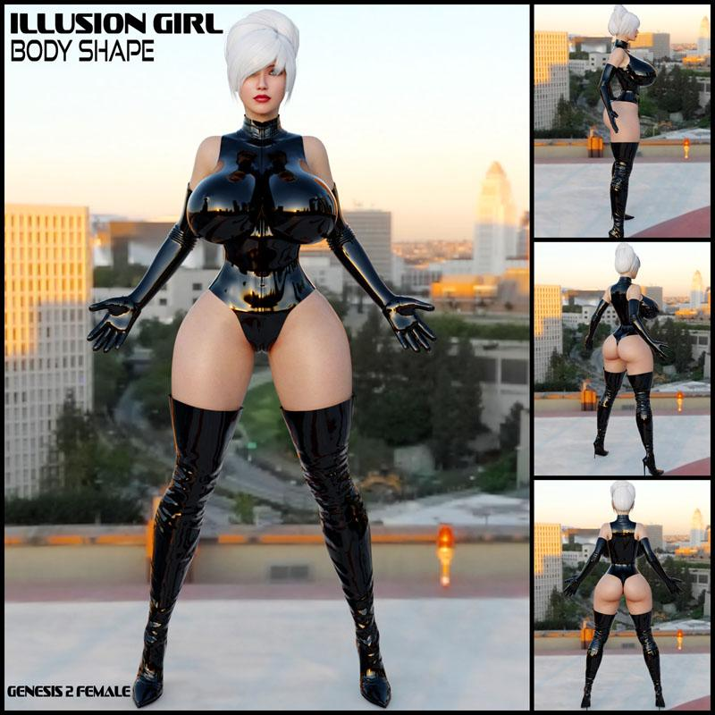 Illusion Girl Body Shape G2F