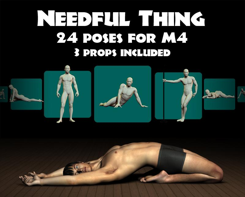 Needful Thing M4 Poses