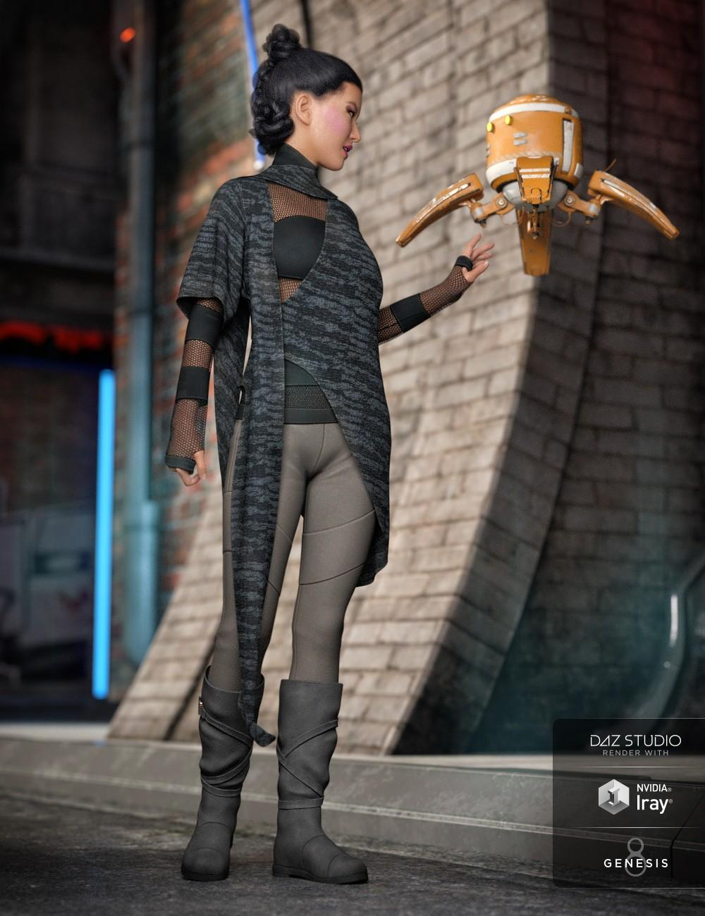 dForce Dystopian Future Outfit for