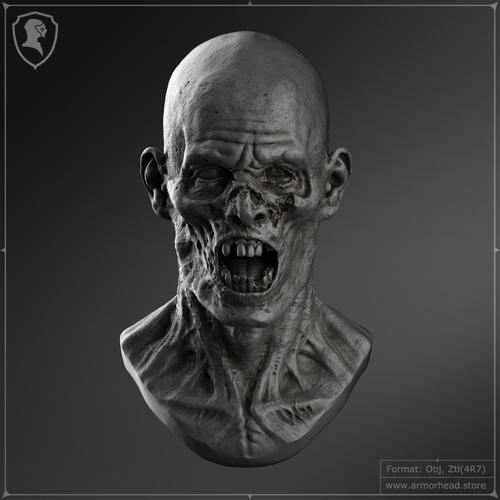 Zombie Head V.1