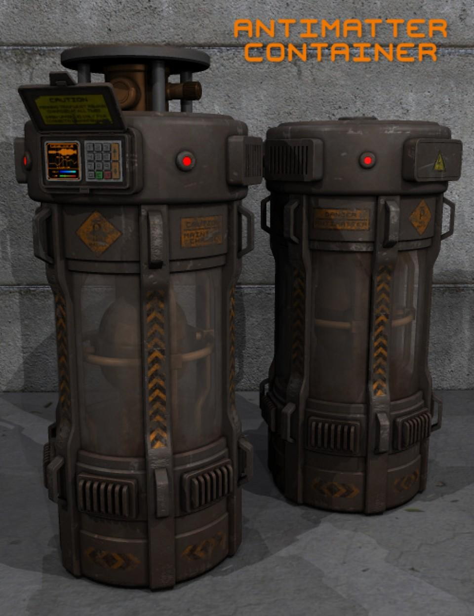 Antimatter Container