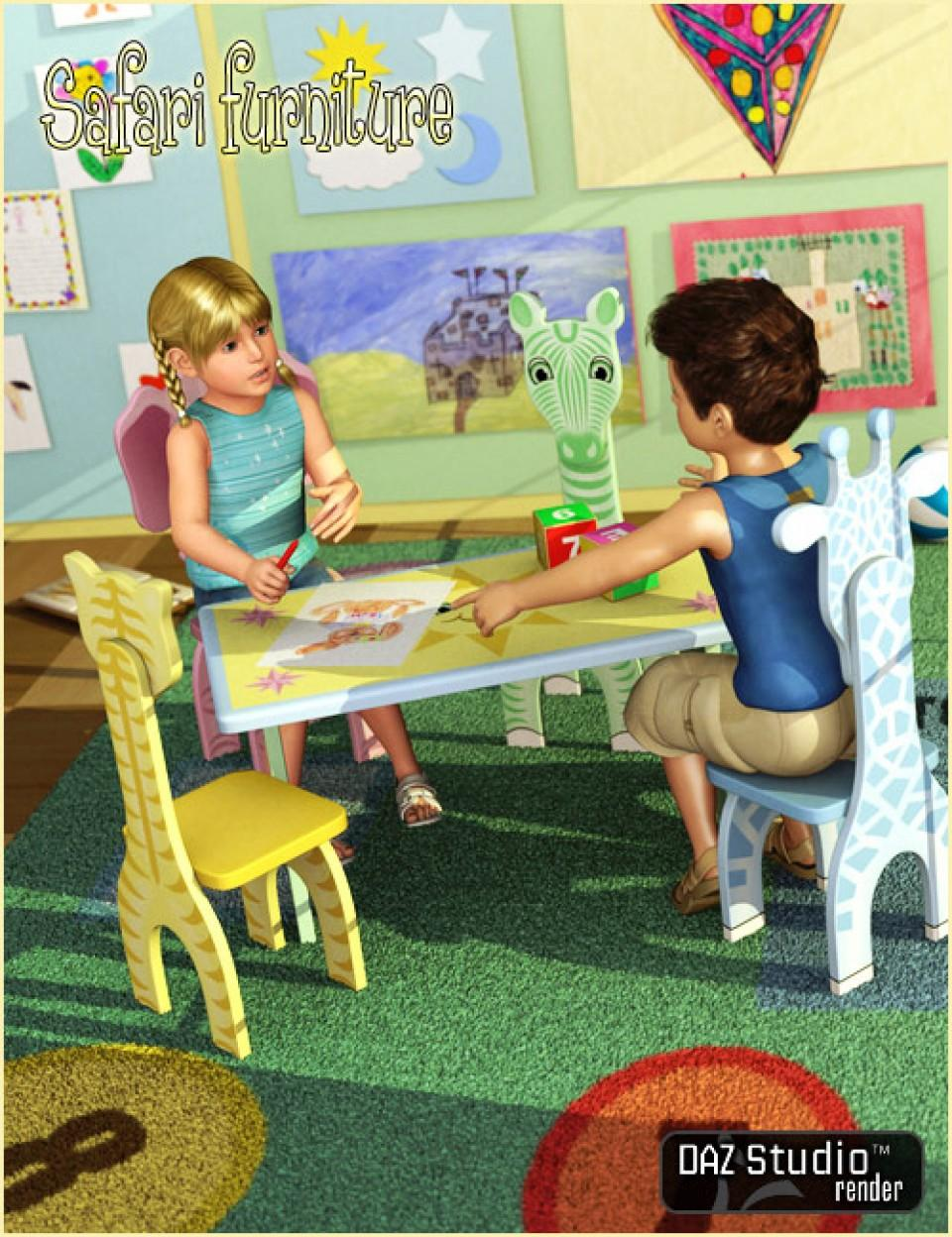 Safari Furniture for Kids4