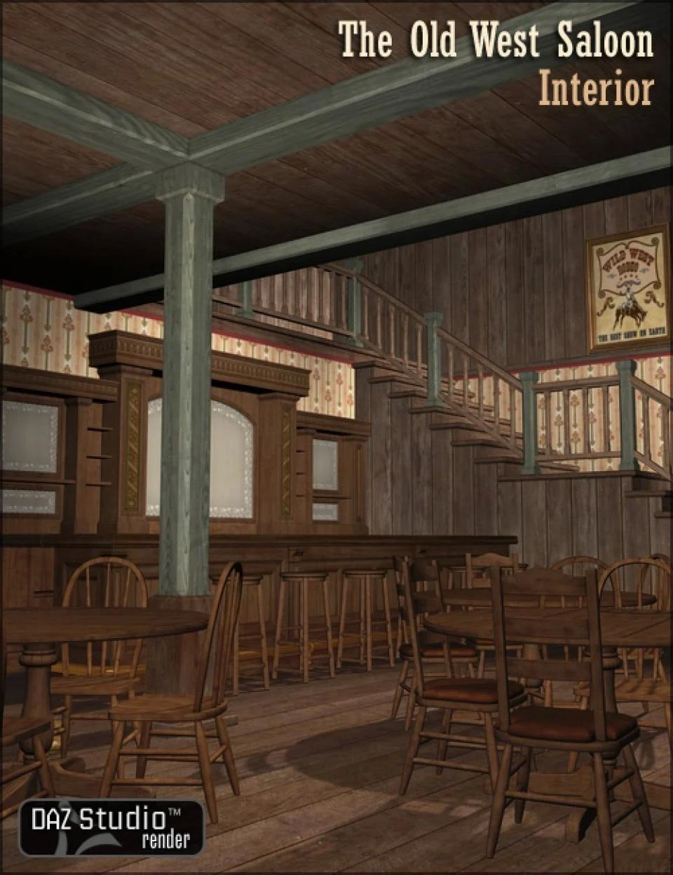 The Old West Saloon Interior