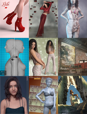 DAZ Bundle 04082019