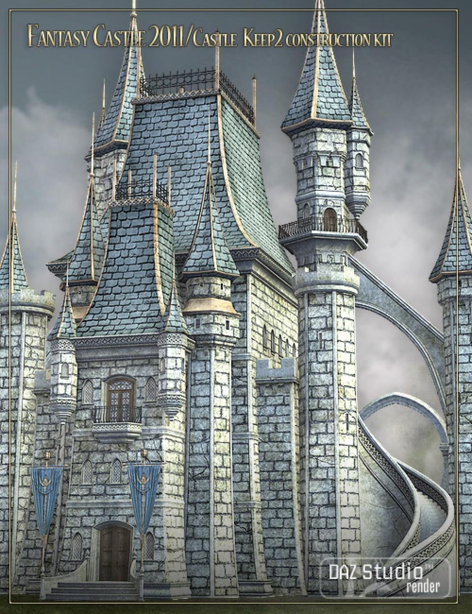 Fantasy Castle 2011 - Castle Keep 2