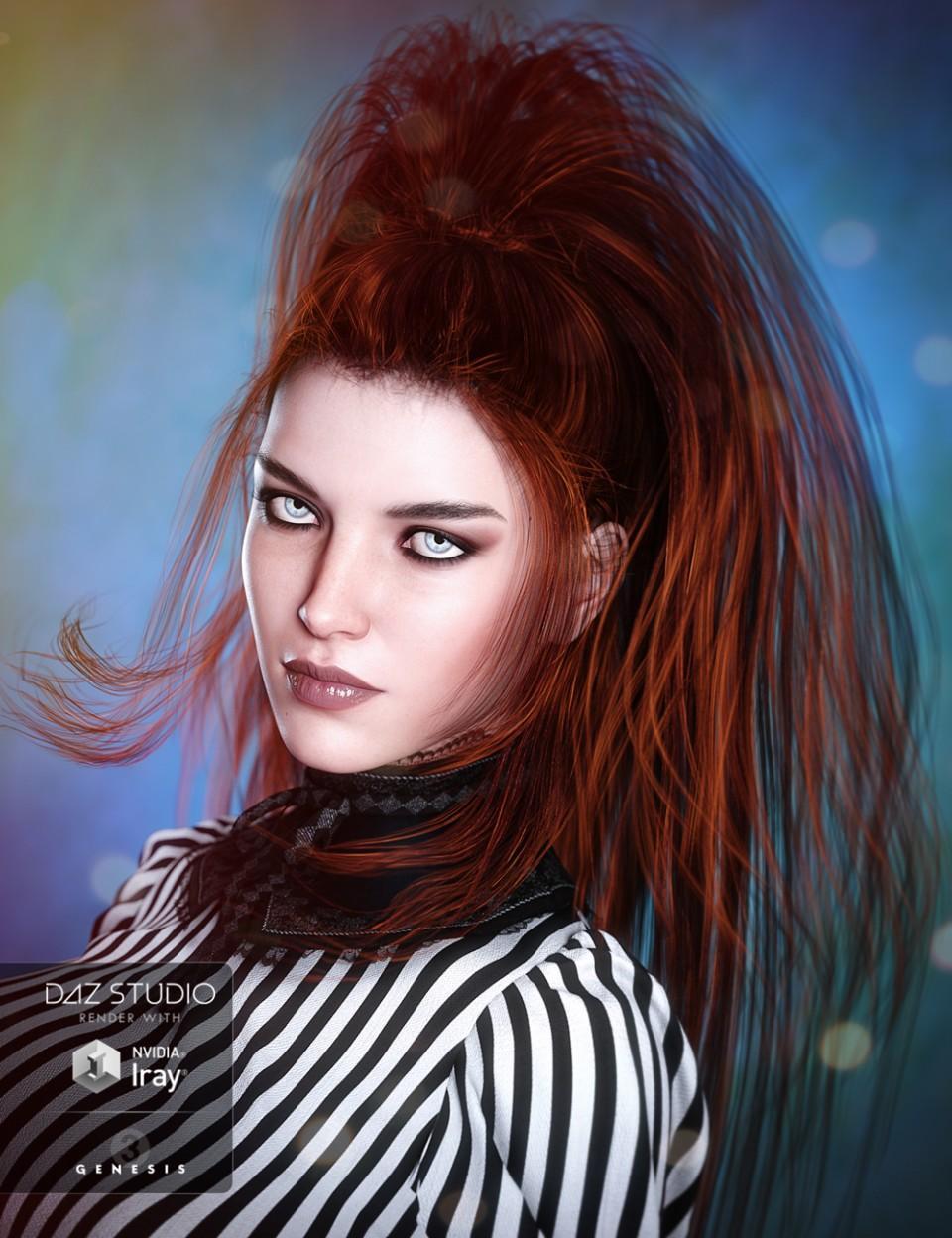 Twilight Hair for Genesis 3
