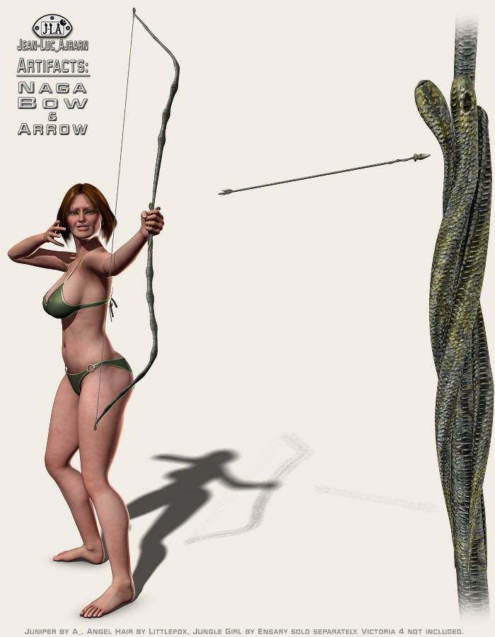 Artifacts: Naga Bow and Arrow