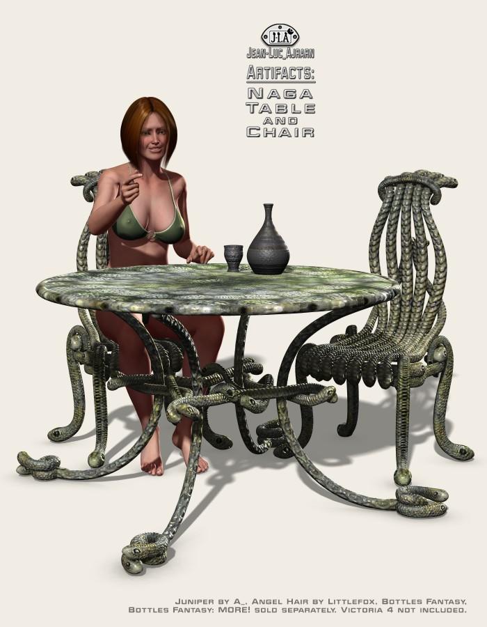 Artifacts: Naga Table and Chair