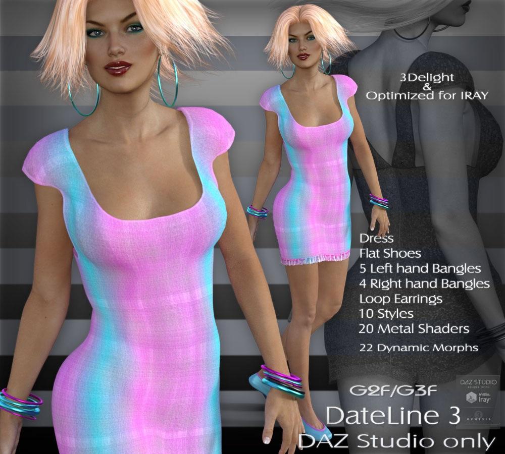 G2F/G3F Dateline 3 - DAZ Studio