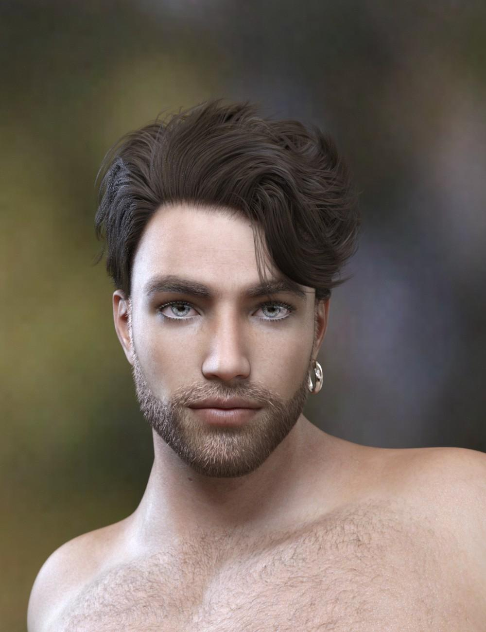 Magnus Hair for Genesis 3 and Genesis 8 Male(s)