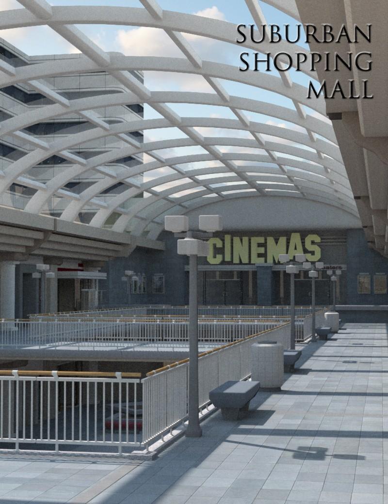 Suburban Shopping Mall