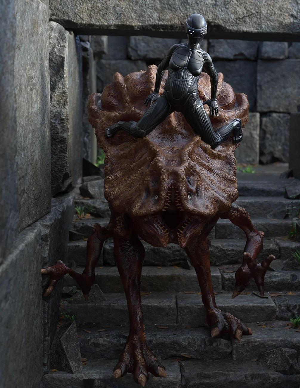 Big Bug Poses for Xenotype: Specimen Alpha