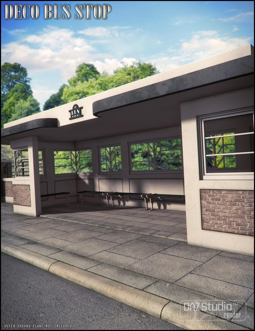 Deco Bus Stop