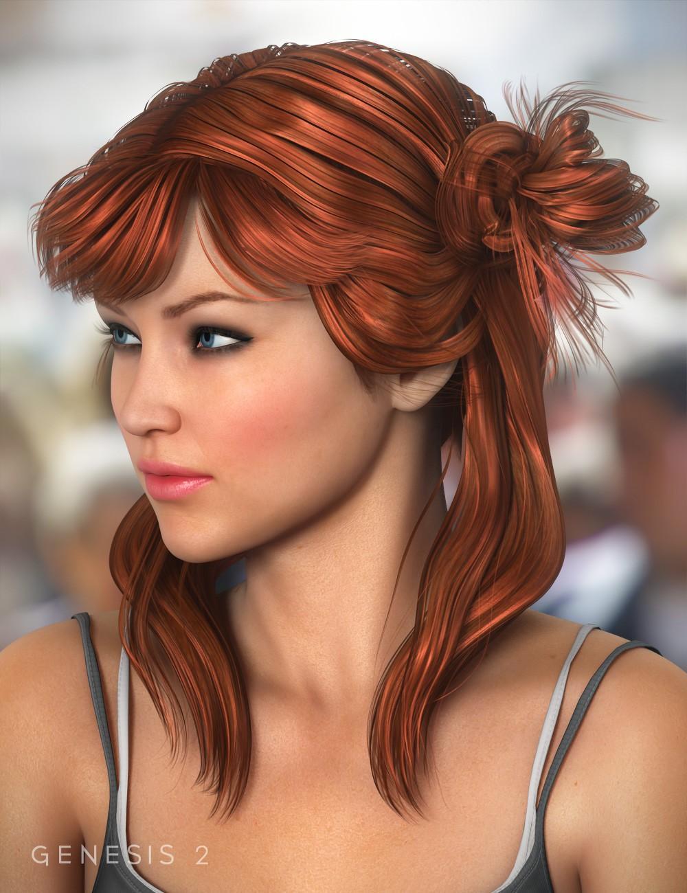 Innocent Hair for Genesis Female(s)