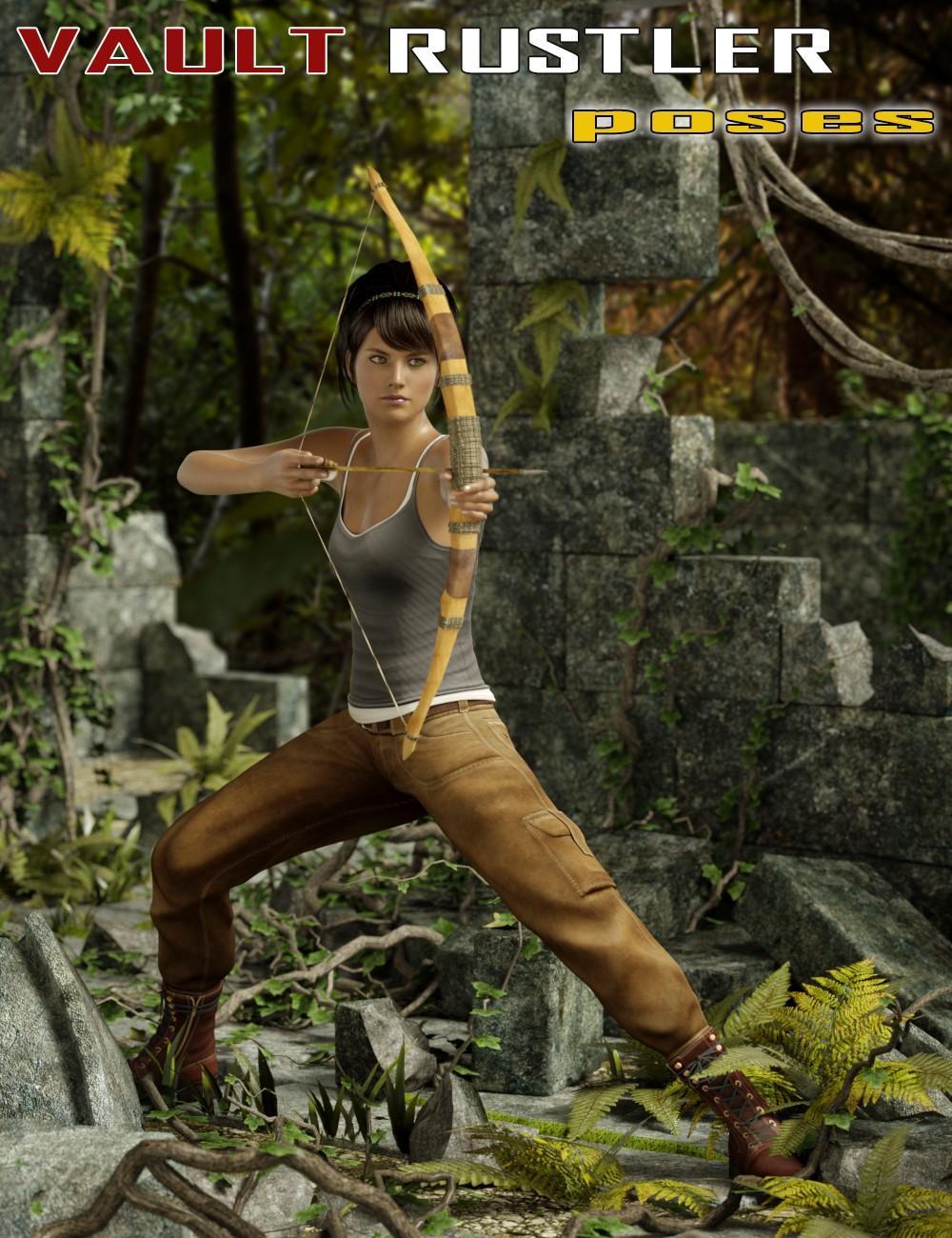 Vault Rustler Poses for Genesis 2 Female(s)