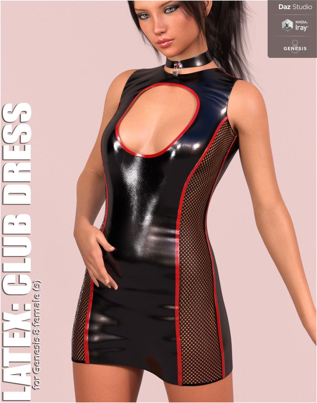 Latex: Club Dress