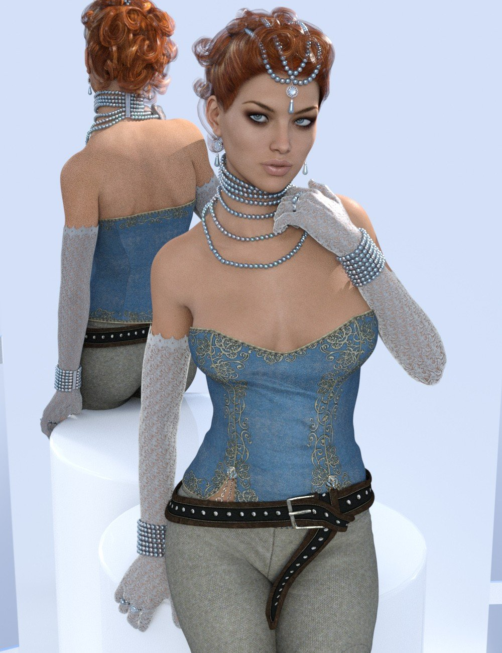 Duchess Pearls for Genesis 3 Female(s)